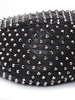 Christian Louboutin Christian Louboutin, Marianne Rider Spikes Leather Hobo Bag.