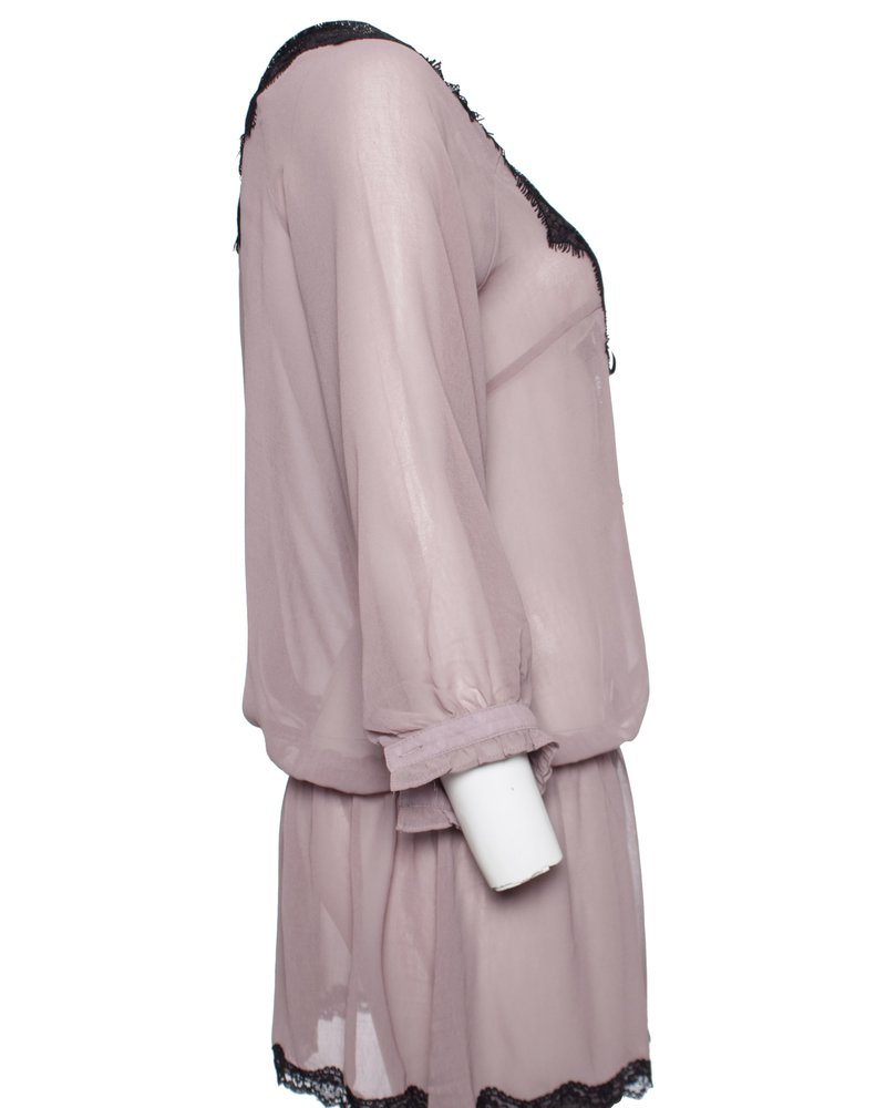 by SECOND FEMALE,  resort jurk met zwart kant
