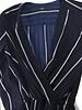 Maje Maje, blue jumpsuit with white stripes