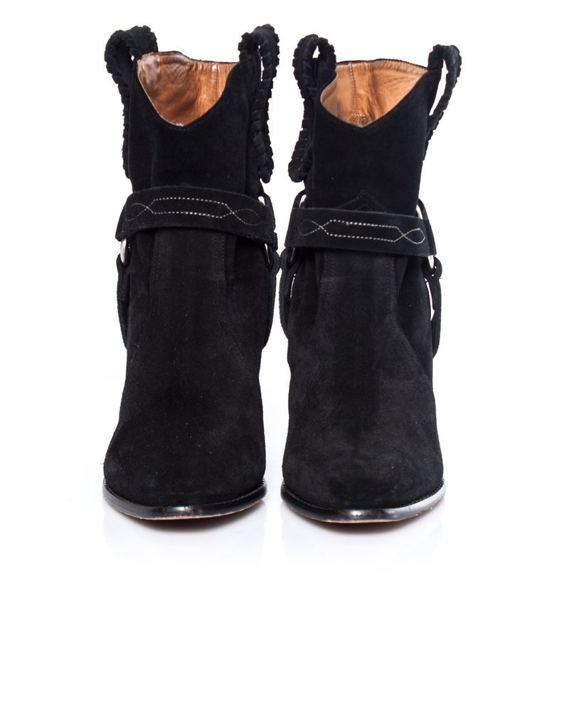 Isabel Marant Etoile Isabel Marant Etoile, Raswon suede western boots