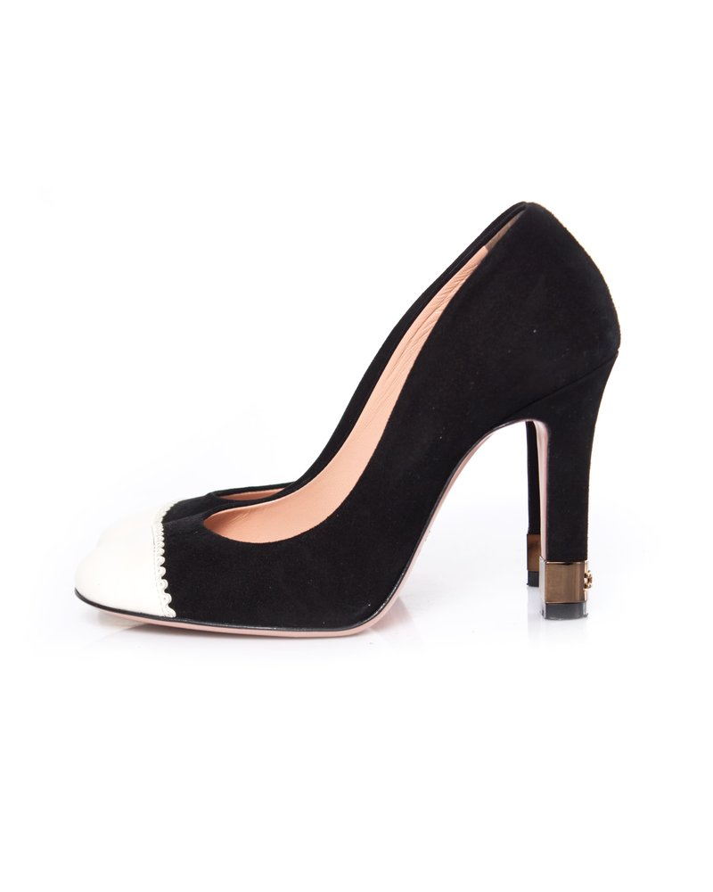 Elisabetta Franchi Elisabetta Franchi, Black suede pumps
