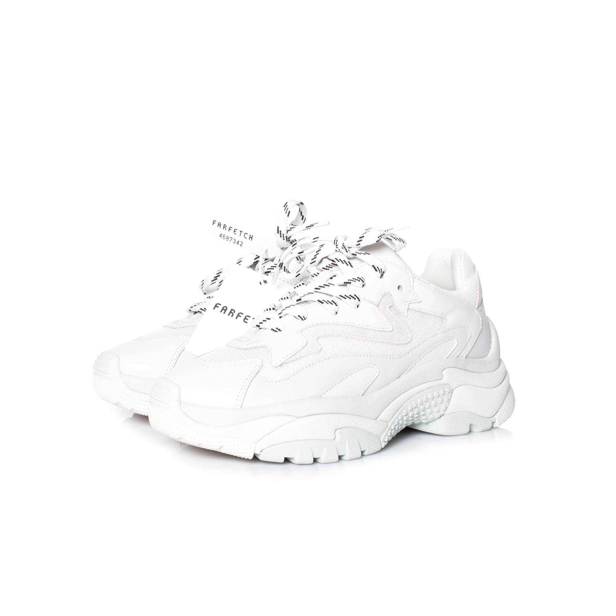 ash addict sneakers white