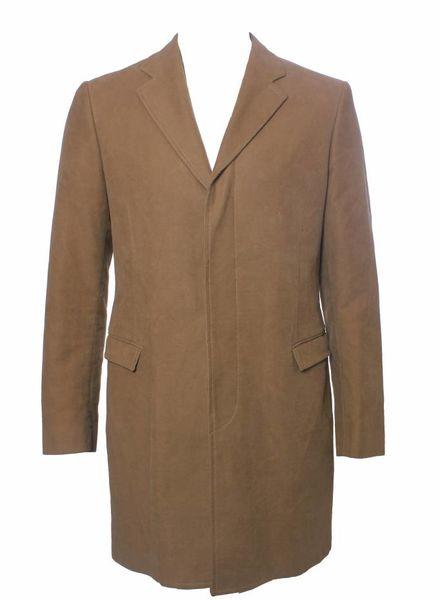 Calvin Klein Calvin Klein, beige kleurige jas in suedine.