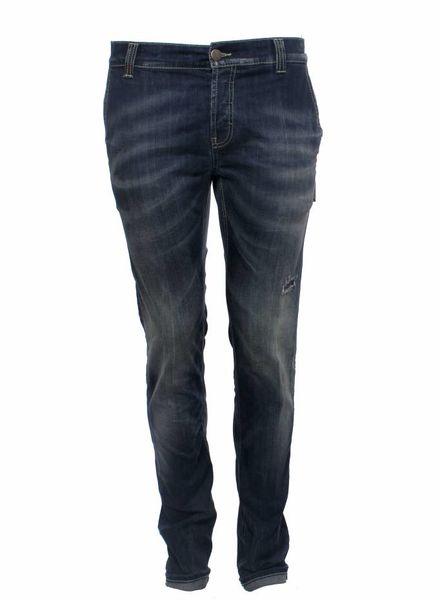 Dondup Dondup, blauwe denim jeans.