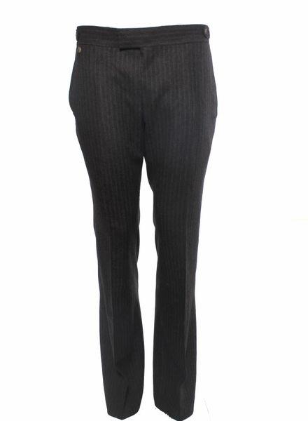 Yves Saint Laurent Yves Saint Laurent, bruine flair pijp pantalon.