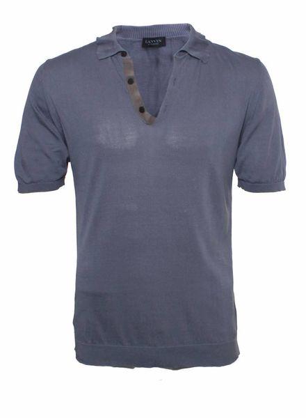 Lanvin Lanvin, blue t-shirt, size L.