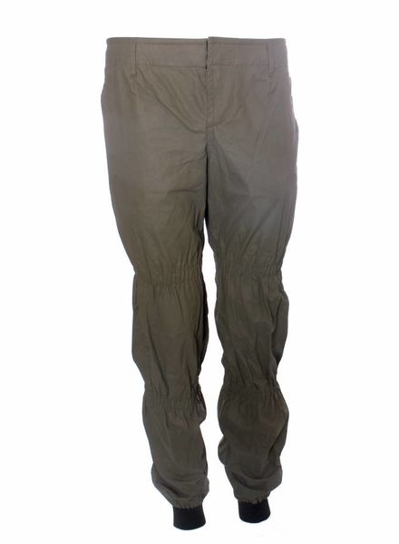 Dsquared2 Dsquared, Olive green high-tech sport influenced trousers in size M.