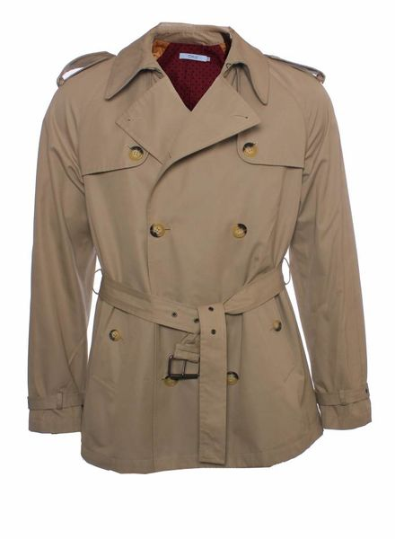 Red Valentino Red Valentino, Beige trenchcoat with detachable hoody in size M.
