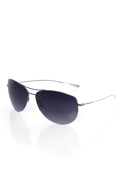 Oliver Peoples Oliver Peoples, silver sunglasses with purple/blue shades.