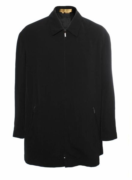 DKNY  Donna Karan, zwarte windjas in maat XL.