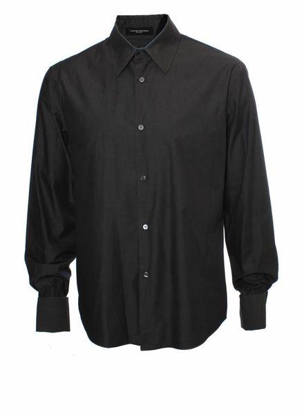 Costume National Costume National, dark gray shirt.