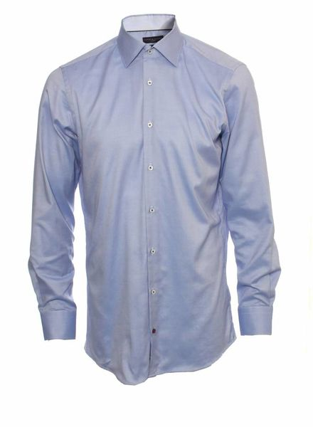 Tommy Hilfiger Tommy Hilfiger, blue fitted and tailored shirt in size 40 (15 1/40)