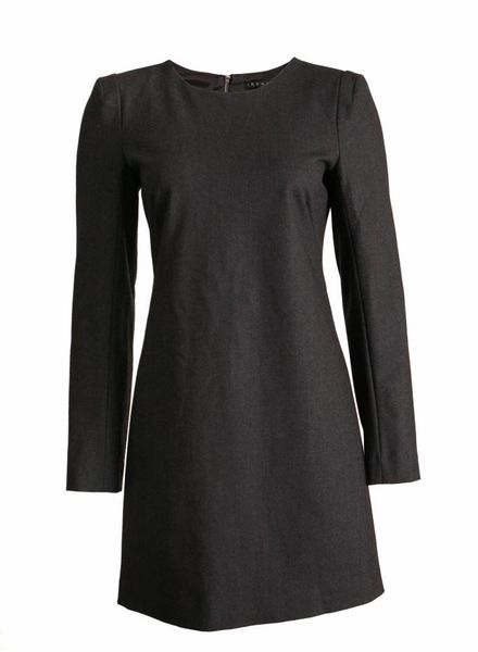 Theory Theory, grey woollen dress in size 6/S.
