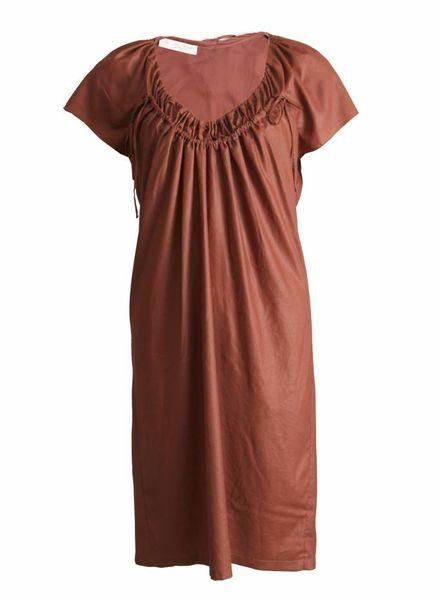 Stella McCartney Stella Mccartney, bruine jurk in maat 44 IT/S.