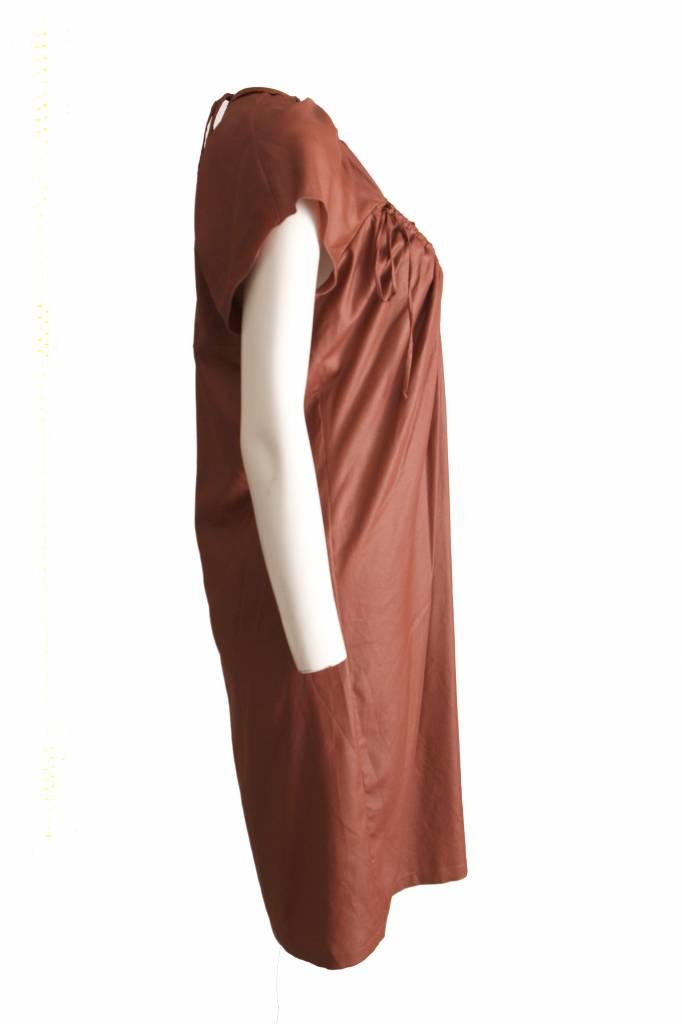 Uitgelezene Stella McCartney Stella Mccartney, bruine jurk in maat 44 IT/S BC-54