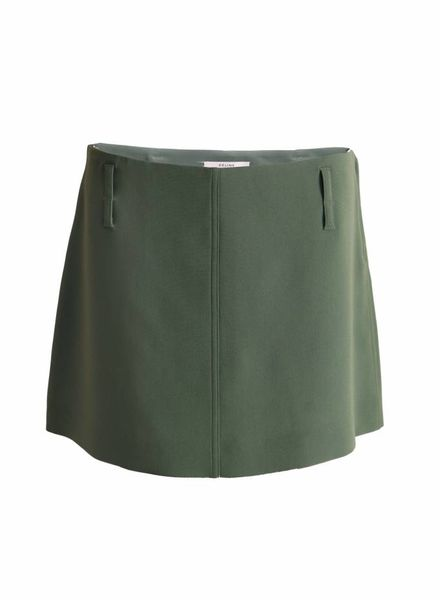 Celine Celine, Olive green skirt in size S.