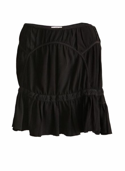 Prada Prada, black skirt in size 42IT/S.