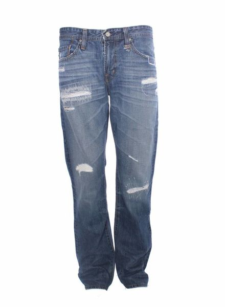 Adriano Goldschmiedt Adriano Goldschmiedt, light blue straight leg jeans in size 33.