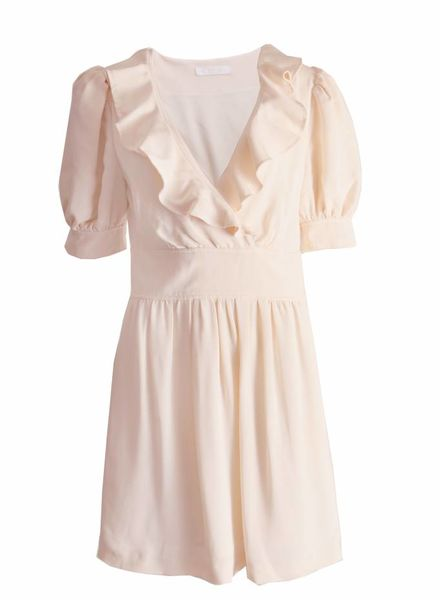 Chloé Chloe, off-white romantische jurk.