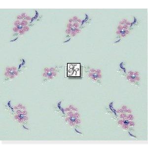Nagelsticker Rosa- Edel