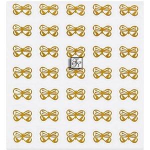 Einlegemotiv SCHMETTERLING gold