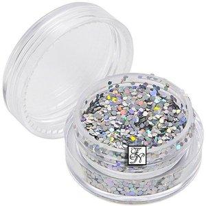 Glitter-Pailetten Nr.54 (silber)