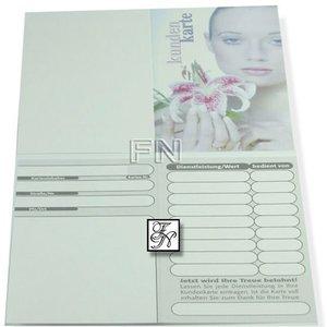 Kunden-Karte Orchidee