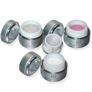 UV Gel Set 4er (klar, french, rosa, magic)
