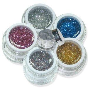 Gel Set Sparkle-Line 5er
