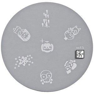 Nail Art Stamping Schablone M13