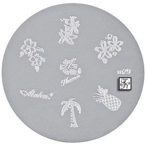 Nail Stamping Schablone M29