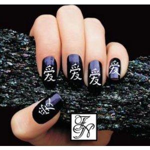 Nailart Nail Stamping Schablone Nr.005
