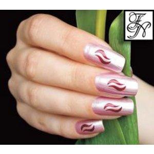 Nailart Nail Stamping Schablone Nr.007
