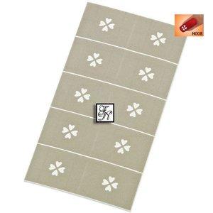 Nailart Nail Stamping Schablone Nr.008