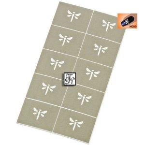 Nailart Nail Stamping Schablone Nr.009