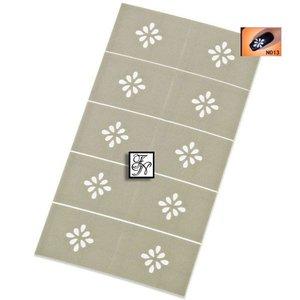 Nailart Nail Stamping Schablone Nr.013