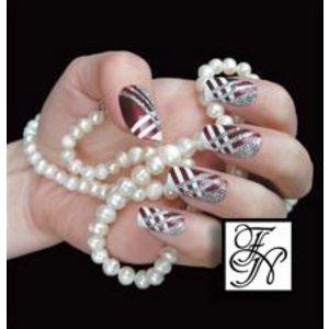 Nailart Nail Stamping Schablone Nr.018