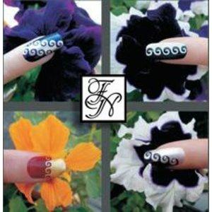 Nailart Nail Stamping Schablone Nr.019