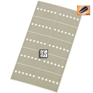 Nailart Nail Stamping Schablone Nr.037
