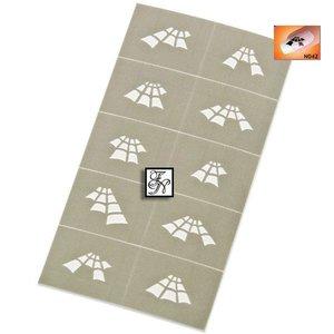 Nailart Nail Stamping Schablone Nr.042