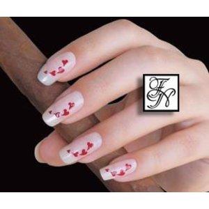 Nailart Nail Stamping Schablone Nr.044