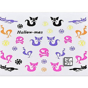 Halloween Nail Sticker H7