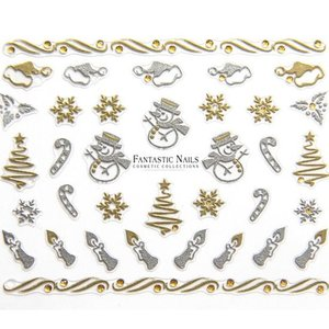 Nagelsticker Weihnachten 3D Nr.049
