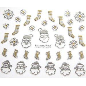 Nagelsticker Weihnachten 3D Nr.054