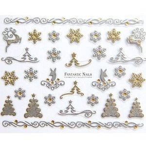 Nagelsticker Weihnachten 3D Nr.055