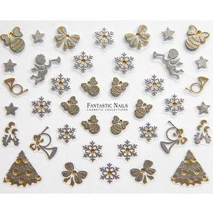 Nagelsticker Weihnachten 3D Nr.056