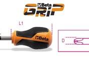 Beta Phillips® Kruiskop schroevendraaier, kort