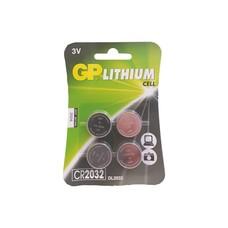 GP CR2032 Lithium knoopcel 4-pack