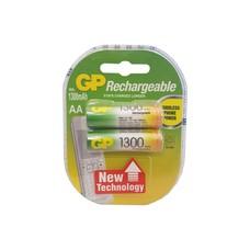 GP 1300 oplaadbare AA LR6 batterij 2 stuks