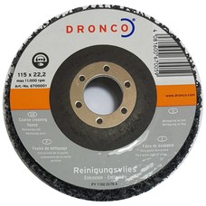 Dronco Reinigingsschijf 115x22,23